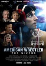 poster american wrestler wizard